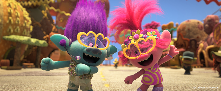 TROLLS WORLD TOUR: Die coolsten Songs und ihre Genres